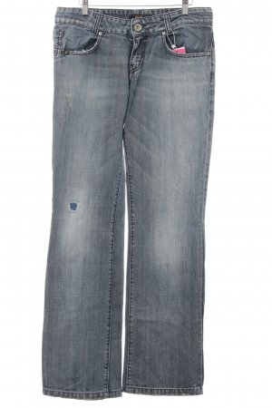Killah Straight-Leg Jeans stahlblau Washed-Optik