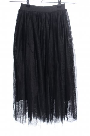 Killah Jupe en tulle noir style extravagant