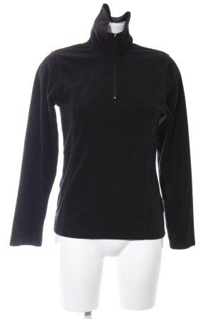 Killtec Pullover in pile nero stile casual