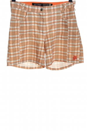 Killtec Hot pants motivo a quadri stile casual