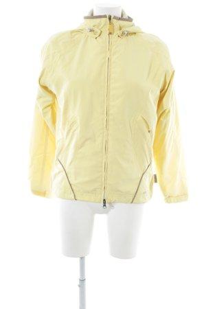 Killtec Giacca con cappuccio giallo pallido-marrone stile casual