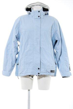 Killtec Outdoorjacke blau-schwarz Casual-Look