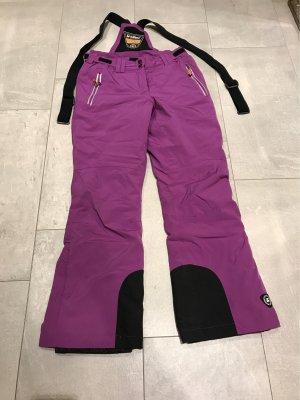 Killtec Pantalón de esquí violeta