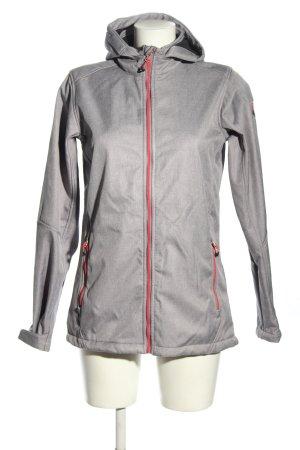 Killtec Giacca sport grigio chiaro stile casual
