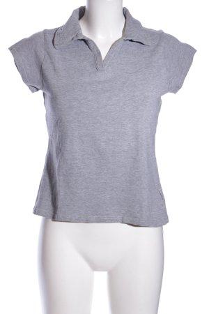 Killtec Maglietta sport grigio chiaro puntinato stile casual