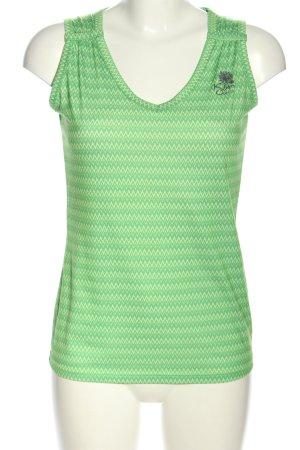 Killtec Sporttop M 38 Top Shirt grün-creme Allover-Druck Casual-Look