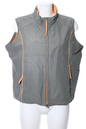 Killtec Smanicato sport grigio chiaro-arancione chiaro stile casual