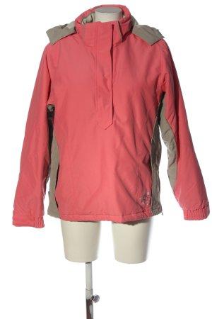 Killtec Übergangsjacke pink-hellgrau Casual-Look
