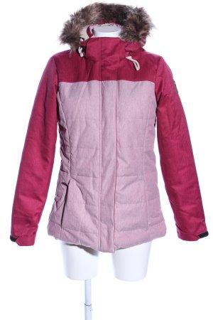 Killtec Chaqueta de invierno rosa-rojo estilo deportivo