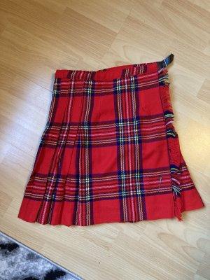 Tabson's Falda cruzada rojo-azul