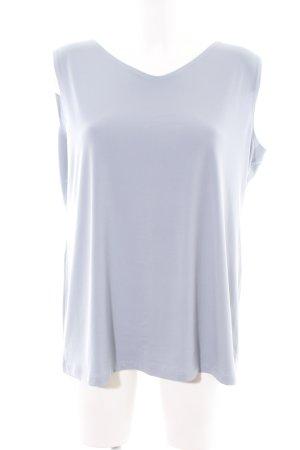 Kim & Co Top basic grigio chiaro stile casual