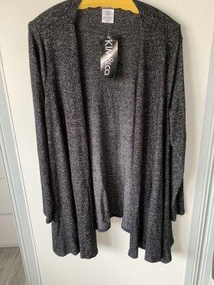 Kim & Co Cardigan black-grey
