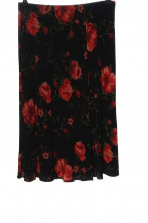 Kim & Co Midi Skirt allover print casual look