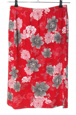Kim & Co Midi Skirt abstract pattern casual look