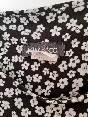Kim & Co 3/4-broek groen-grijs-wolwit