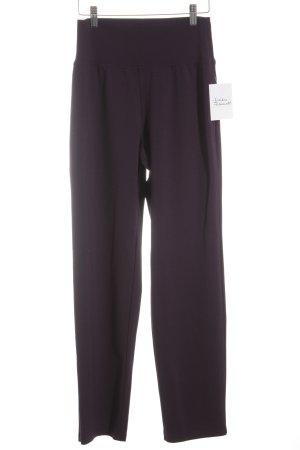 Kim & Co Stoffhose dunkelviolett sportlicher Stil