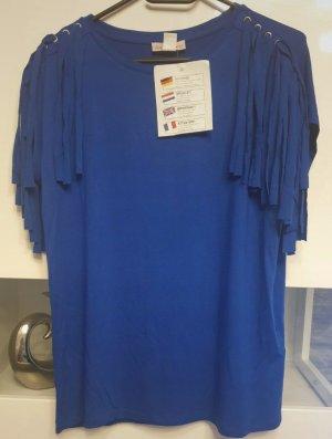 Kim Kara Batik shirt blauw