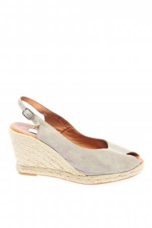 Kim Kay London Wedge Sandals blue casual look