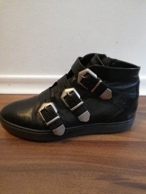 Kim Kay London High top sneaker zwart