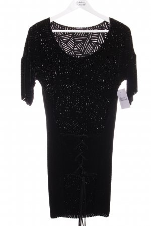 Kimberly ovitz Kurzarmkleid schwarz Elegant