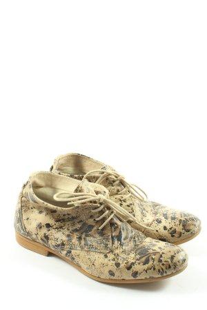 Kimkay Chaussures à lacets motif animal style décontracté