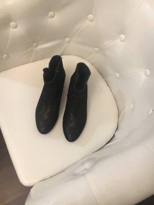 Kimkay Korte laarzen zwart-antraciet