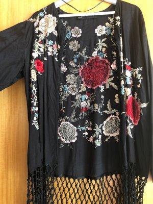 Zara Woman Felpa kimono multicolore