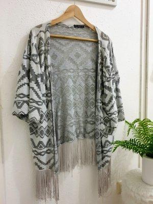 Primark Kimono light grey-grey
