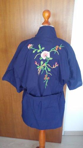 Kimono bleu foncé