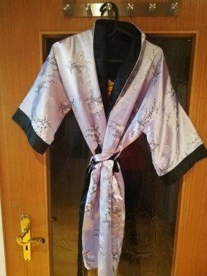 Kimono nero-lilla
