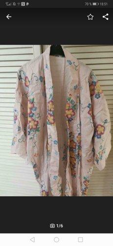 Kimono rosa pallido-azzurro