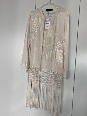 Zara Beachwear natural white