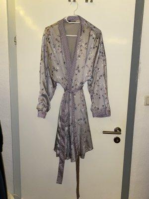 Tschibo Kimono grey violet-light grey