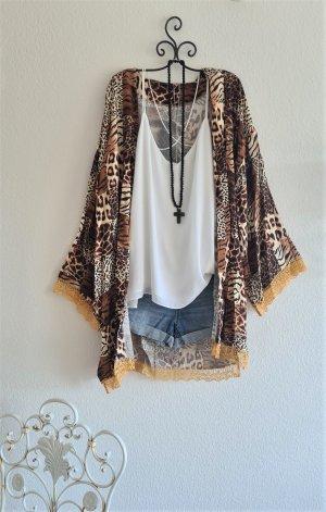 Made in Italy Kimono multicolor Viscosa