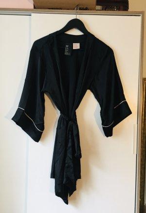 H&M Kimono black-white