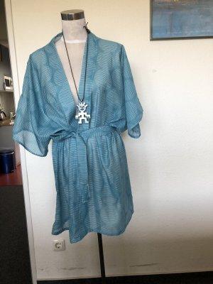 Kimono azul claro