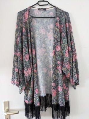 Atmosphere Kimono szary-różowy
