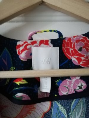 H&M Kimono or rose-bleu