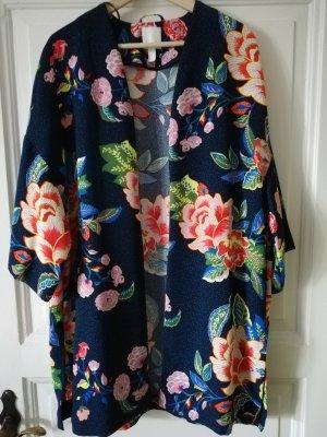 H&M Kimono rose-gold-coloured-blue
