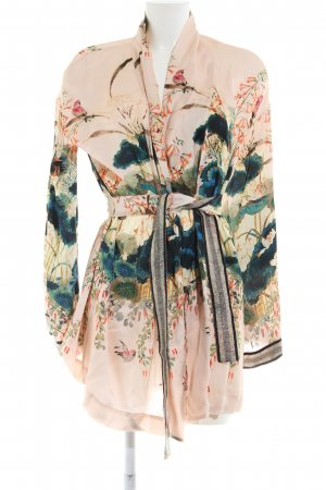 Kimono motivo floreale stile casual