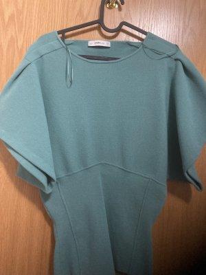 Zara Knit Kimono Blouse sage green