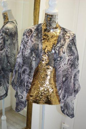 Heine Kimono grey-white