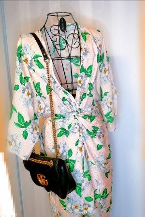 Kimono rosa-verde