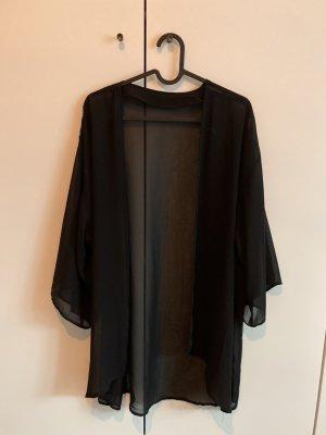 H&M Blusa kimono nero