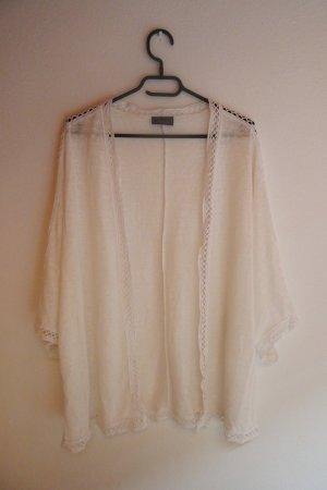 C&A Kimono blanc-blanc cassé