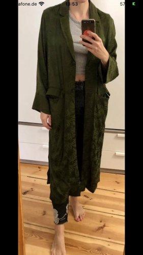 H&M Kimono vert foncé