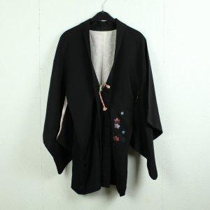 Kimono negro-rosa