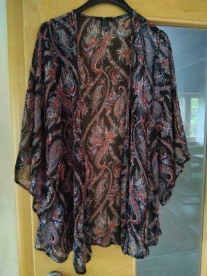 Forever 21 Kimono Blouse multicolored