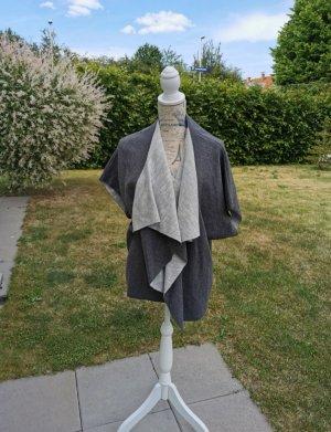 Kimono jasnoszary-ciemnoszary