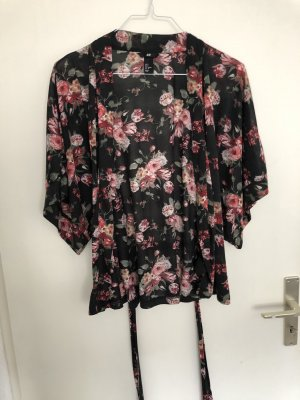 Kimono H&M mit Rosen